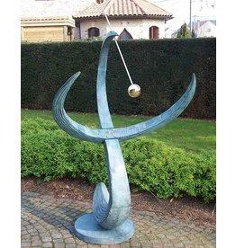 Eliassen Zonnewijzer brons modern supergroot