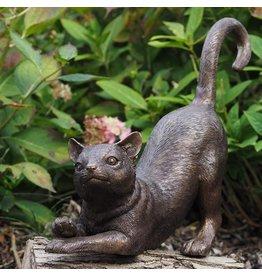 Eliassen Bronze stretched cat