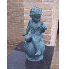 Eliassen Bronzen jongen met schelp