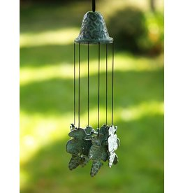 Eliassen Bronze wind chimes with grapes