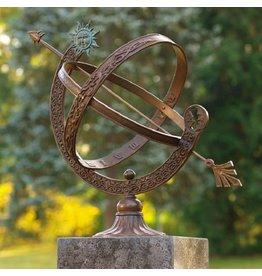 Eliassen Sonnenuhr Bronze / Messing 48cm