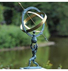 Eliassen Zonnewijzer brons Apollo