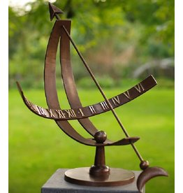 Eliassen Sundial bronze modern
