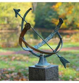 Eliassen Sonnenuhr Bronze offen 1