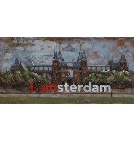 Eliassen 3D painting Rijksmuseum 70x140cm