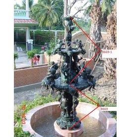 Eliassen Bronzebrunnen mit Putten