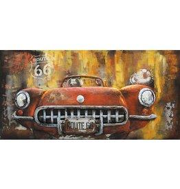 Eliassen 3d painting Sportscar 60x120cm