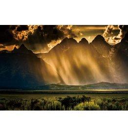 Eliassen Foto auf Glasmalerei 80x120cm Sturm