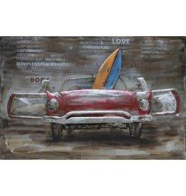 Eliassen Schilderij 3d metaal 80x120cm Free Time