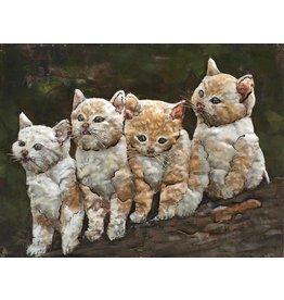 Eliassen Painting 3d 60x80cm Cats