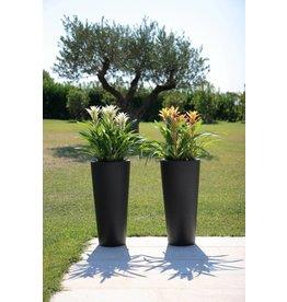 Hohe Vase Tondo Alto in zwei Farben
