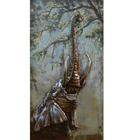 Eliassen 3d painting 70x140cm Elephant up