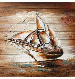 Eliassen Malerei Holz 3d 91x91cm Sailer Links
