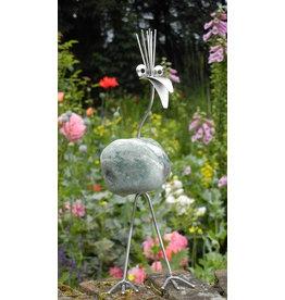 Vogelfigur Edelstahl Ingeborg