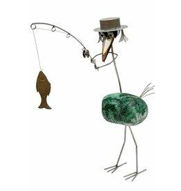 Fishing bird RVS Casanova M