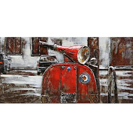 Eliassen Painting 3d iron 40x80cm Vespa 1