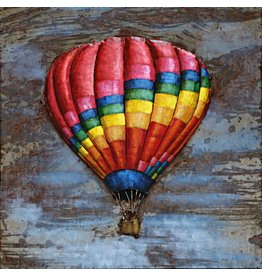 Eliassen Schilderij 3d ijzer 80x80cm Ballon