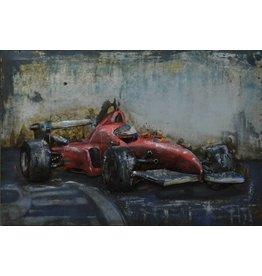 Eliassen Painting 3D iron 60x40cm Ferrari