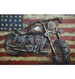 Painting 3D Iron 40x60cm America
