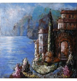 Eliassen Metal painting 3d 100x100cm Palermo