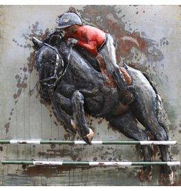 Eliassen Schilderij metaal 3d 100x100cm Barrage