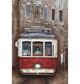 Eliassen Painting 3d metal 60x90cm Prazeres