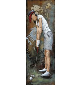Eliassen Painting 3d metal 40x120cm Driver