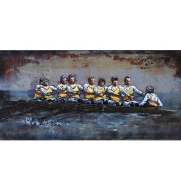Eliassen Metal 3d painting 140x70cm K8 rowers