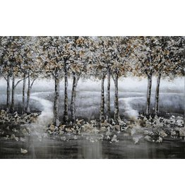 Canvas painting 80x120cm Forest