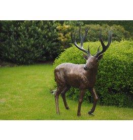 Eliassen Bronzen beeld hert groot