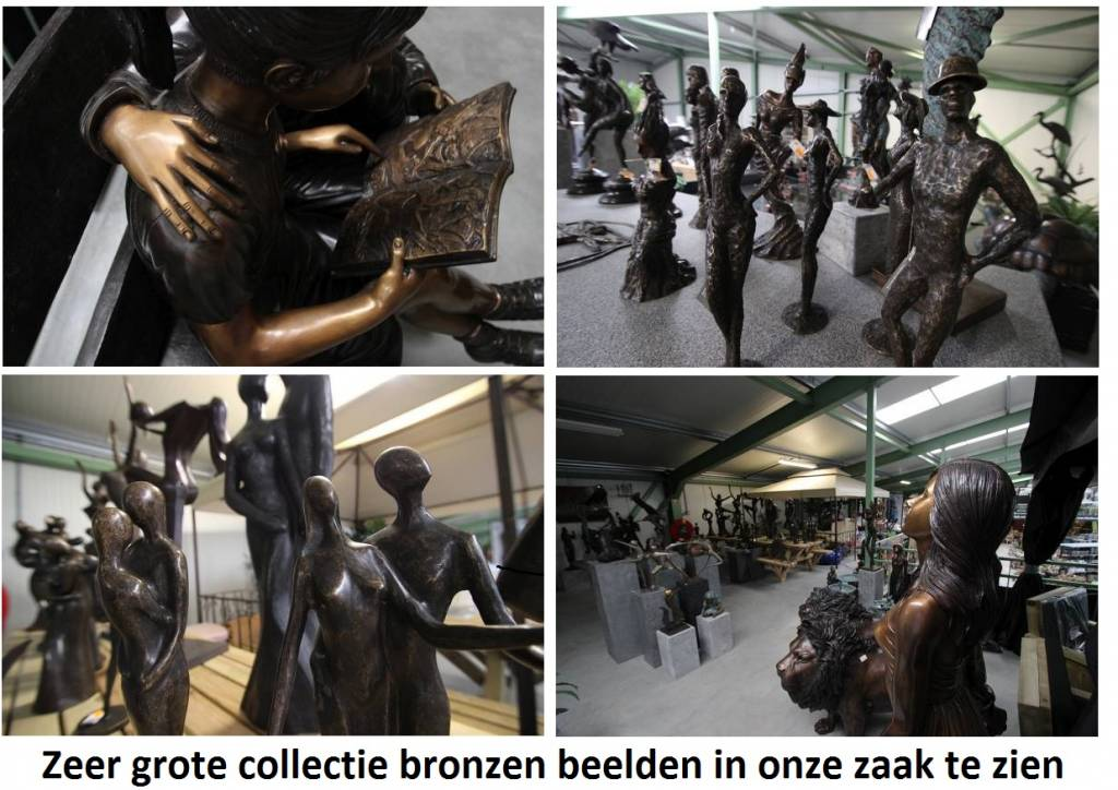 Eliassen Bronzen vrouw met kruik fontein