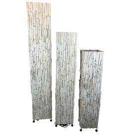 Eliassen Floor lamp wood Wood White