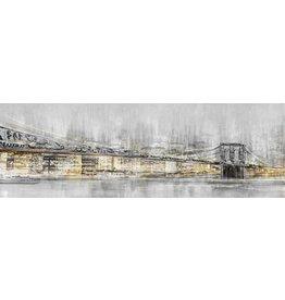 Eliassen Leinwandbild 150x50 cm Große Stadt