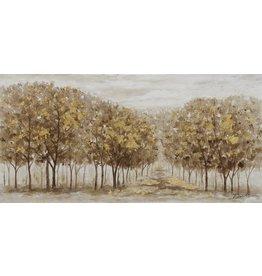 Canvas painting 140 x 70 cm Autumn