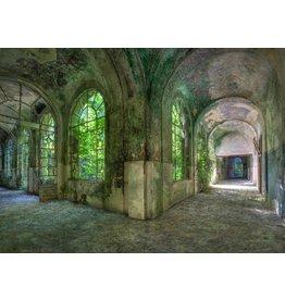 Dibond Gemälde 148 x 98 cm Ruine