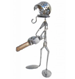 Figure stainless steel Oliver the sawman