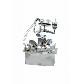 Frog figure stainless steel Mason the boss