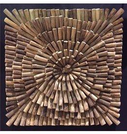 Eliassen Holzwand quadratischen Frühling