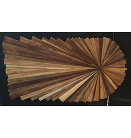 Wooden Wall Panel Ray