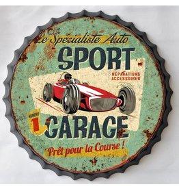 Wall decoration beer cap Sport