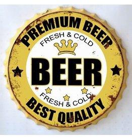 Wall decoration beer cap Beer
