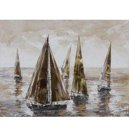Canvas painting Luwte 100x100cm