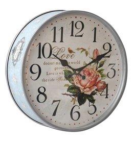 Eliassen Keksdose Uhr Rose