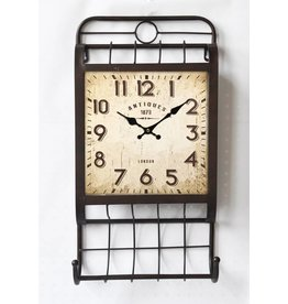 Eliassen Clock with wine rack 1870