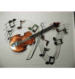 Wanddekoration 3d Violin
