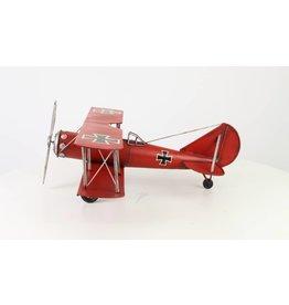 Miniatuurmodel Vliegtuig Rode Baron groot