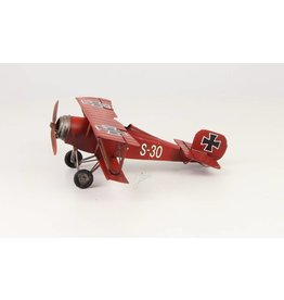 Miniaturmodell aussehen Red Baron klein