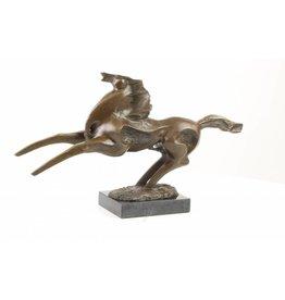 Bronze sculpture Horse modern