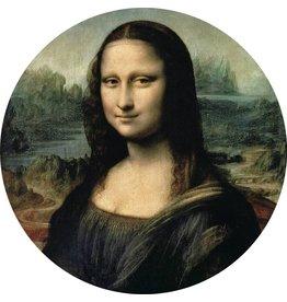 MondiArt Glass painting around Mona Lisa dia 40cm