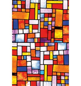 MondiArt Gemälde Glaswürfel 80x120cm